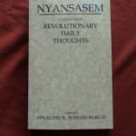 A Calendar of Revolutionary Daily Thoughts Nyansasem (Book) Mwalimu K. Baruti - Product Image
