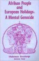 Afrikan People and European Holidays (Vol. 2) Rev Barashango - Product Image